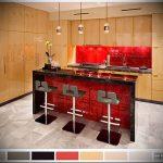 Фото Яркие акценты в интерьере кухни - 02062017 - пример - 102 interior of the kitchen