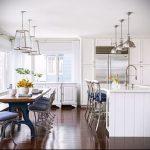Фото Морской стиль в интерьере - 01072017 - пример - 007 Marine style in the interior.-Dining-Area-and-Kitchen-1024x671