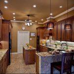 Фото Свет в интерьере кухни - 19072017 - пример - 031 Light in the interior of the kitchen