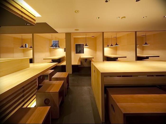 фото Интерьера японского ресторана от 07.08.2017 №008 - interior of a Japanese restauran