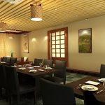фото Интерьера японского ресторана от 07.08.2017 №025 - interior of a Japanese restauran
