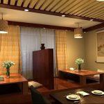 фото Интерьера японского ресторана от 07.08.2017 №071 - interior of a Japanese restauran