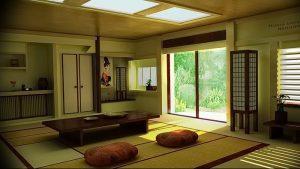 фото Интерьер японского дома от 11.08.2017 №001 - Interior of a Japanese house