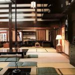 фото Интерьер японского дома от 11.08.2017 №052 - Interior of a Japanese house