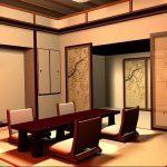 фото Интерьер японского дома от 11.08.2017 №054 - Interior of a Japanese house