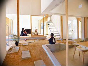 фото Интерьер японского дома от 11.08.2017 №070 - Interior of a Japanese house