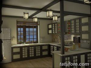 фото Интерьер японской кухни от 19.08.2017 №014 - Interior of Japanese kitchen