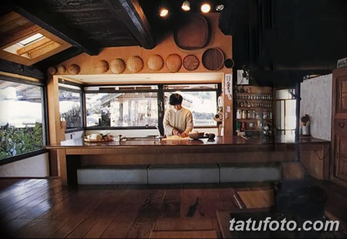 фото Интерьер японской кухни от 19.08.2017 №022 - Interior of Japanese kitchen
