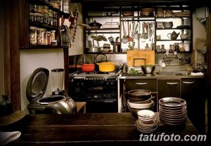 фото Интерьер японской кухни от 19.08.2017 №033 - Interior of Japanese kitchen