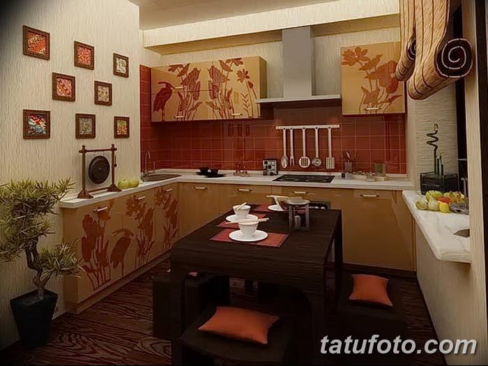 фото Интерьер японской кухни от 19.08.2017 №062 - Interior of Japanese kitchen