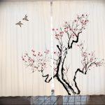 японские шторы пример на фото 12313231