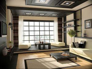 фото Японский интерьер комнаты от 19.08.2017 №020 - Japanese room interior_design-foto