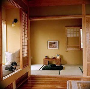 фото Японский интерьер комнаты от 19.08.2017 №034 - Japanese room interior_design-foto