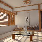 фото Японский интерьер комнаты от 19.08.2017 №042 - Japanese room interior_design-foto