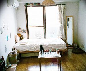 фото Японский интерьер комнаты от 19.08.2017 №049 - Japanese room interior_design-foto