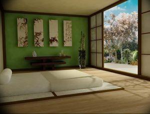 фото Японский интерьер комнаты от 19.08.2017 №064 - Japanese room interior_design-foto