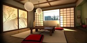 фото Японский интерьер комнаты от 19.08.2017 №092 - Japanese room interior_design-foto