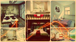 Интерьер спальни в японском стиле - фото готовых дизайнов