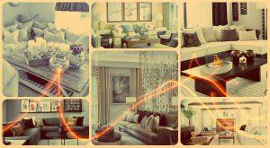 Как украсить интерьер гостиной - фото примеры интересных вариантов