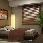 фото Интерьер спальни в японском стиле от 22.09.2017 №004 - 1 - design-foto.ru