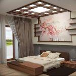 фото Интерьер спальни в японском стиле от 22.09.2017 №007 - 1 - design-foto.ru