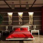 фото Интерьер спальни в японском стиле от 22.09.2017 №008 - 1 - design-foto.ru
