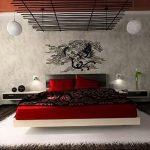 фото Интерьер спальни в японском стиле от 22.09.2017 №011 - 1 - design-foto.ru