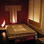 фото Интерьер спальни в японском стиле от 22.09.2017 №017 - 1 - design-foto.ru 123123232