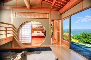 фото Интерьер спальни в японском стиле от 22.09.2017 №023 - 1 - design-foto.ru