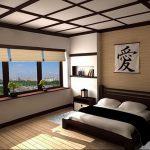 фото Интерьер спальни в японском стиле от 22.09.2017 №026 - 1 - design-foto.ru