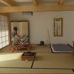 фото Интерьер спальни в японском стиле от 22.09.2017 №028 - 1 - design-foto.ru