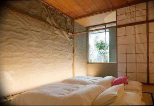 фото Интерьер спальни в японском стиле от 22.09.2017 №029 - 1 - design-foto.ru