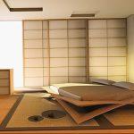 фото Интерьер спальни в японском стиле от 22.09.2017 №032 - 1 - design-foto.ru