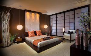фото Интерьер спальни в японском стиле от 22.09.2017 №037 - 1 - design-foto.ru