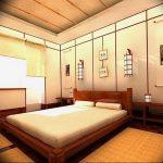 фото Интерьер спальни в японском стиле от 22.09.2017 №038 - 1 - design-foto.ru