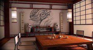 фото Японские предметы интерьера от 30.10.2017 №067 - Japanese interior items