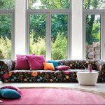 фото Оформление интерьера тканью от 31.10.2017 №068 - Interior decoration with fabric