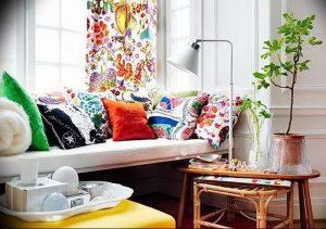 фото Оформление интерьера тканью от 31.10.2017 №071 - Interior decoration with fabric