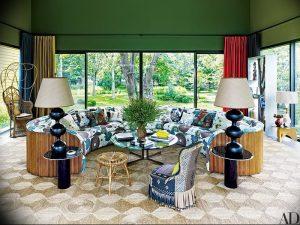 фото Оформление интерьера тканью от 31.10.2017 №076 - Interior decoration with fabric