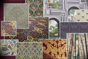 фото Оформление интерьера тканью от 31.10.2017 №077 - Interior decoration with fabric