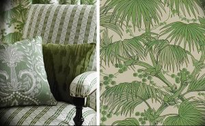 фото Оформление интерьера тканью от 31.10.2017 №079 - Interior decoration with fabric