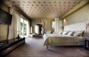 фото Оформление интерьера тканью от 31.10.2017 №090 - Interior decoration with fabric