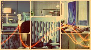 Ткань в интерьере стен - фотографии и примеры готовых идей