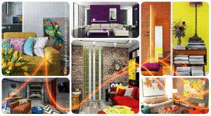 Яркие акценты в интерьере гостиной - фото примеры и готовые идеи