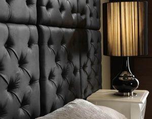 фото Ткань в интерьере стен от 13.11.2017 №003 - Fabric in the interior of the walls