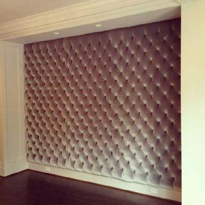 фото Ткань в интерьере стен от 13.11.2017 №004 - Fabric in the interior of the walls