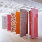 фото Ткань в интерьере стен от 13.11.2017 №006 - Fabric in the interior of the walls