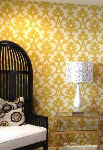 фото Ткань в интерьере стен от 13.11.2017 №016 - Fabric in the interior of the walls