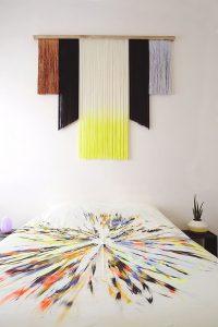 фото Ткань в интерьере стен от 13.11.2017 №019 - Fabric in the interior of the walls