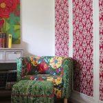 фото Ткань в интерьере стен от 13.11.2017 №025 - Fabric in the interior of the walls